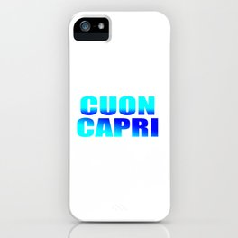 CUON CAPRI iPhone Case