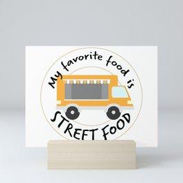 Street Food Mini Art Print