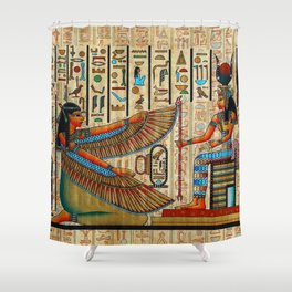 Egyptian - Isis Shower Curtain