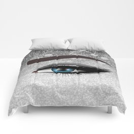 Glam diamond lashes eye #1 Comforters