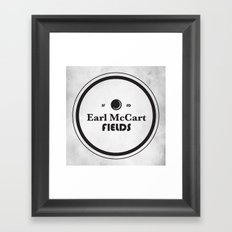 Earl McCart Fields Framed Art Print