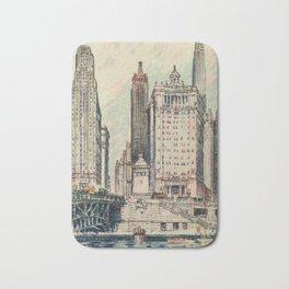 Suydam, Edward H. (1885-1940) - Chicago, A Portrait 1931 Bath Mat