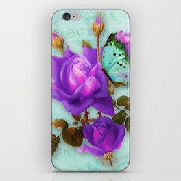 Victoria in Purple iPhone Skin