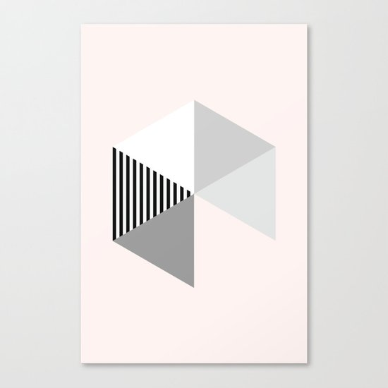 Minimalist Geometric Canvas Print