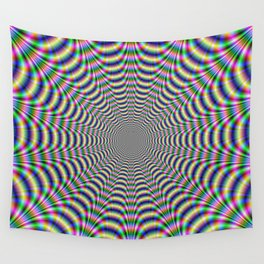Psychedelic Web Wall Tapestry