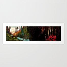 Watership Down (II) Art Print