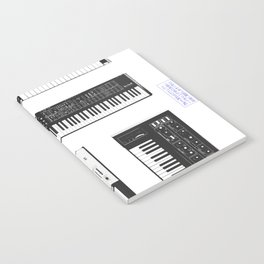 Collection : Synthetizers Notebook