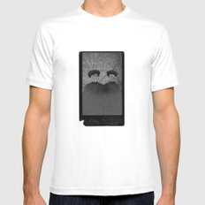 space face MEDIUM Mens Fitted Tee White