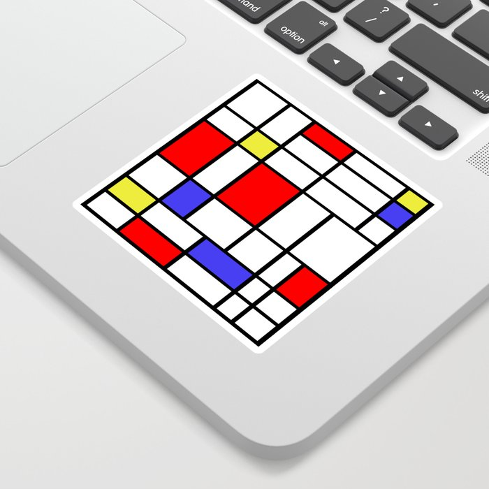 Mondrian #60 Sticker