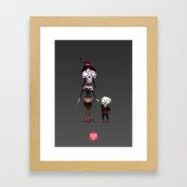 M Gothic Framed Art Print