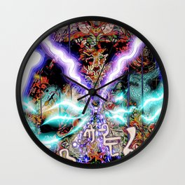JA M'APPLE MAESTRO YOKO Y Wall Clock