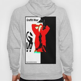 GRAFFITI WEAR...times red Hoody