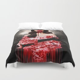 Trouble In Acapulco Duvet Cover