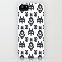 Wolves and Hares iPhone Case
