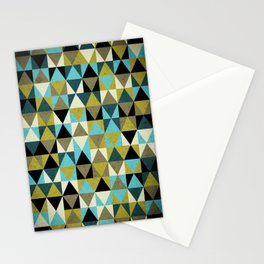 Triangles I Stationery Cards