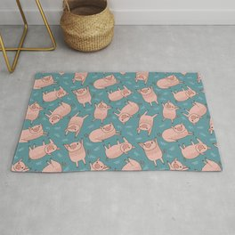 Pattern Project #52 / Piglets Rug
