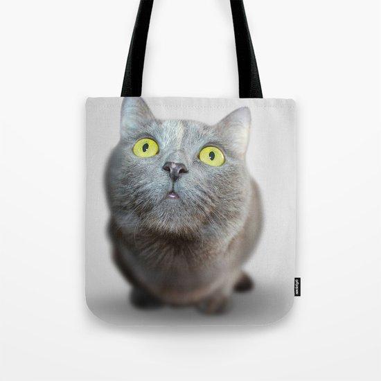 The Cat's Stare Tote Bag