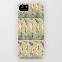 Art Deco Mermaid iPhone Case