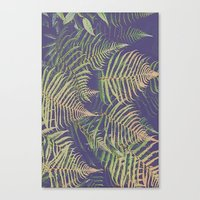 fern Canvas Prints featuring Fern by 83 Oranges™