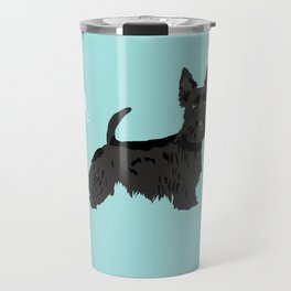 scottish terrier scotties funny farting dog breed pure breed pet gifts Travel Mug