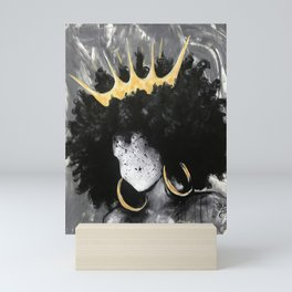 Naturally Queen III Mini Art Print