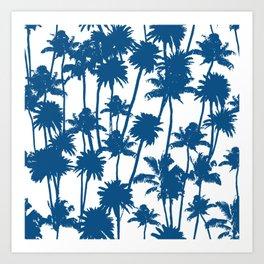 Palm Breeze Art Print