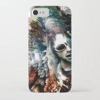 kurt cobain iPhone & iPod Cases featuring Kurt by Tordu Design JS Lajeunesse
