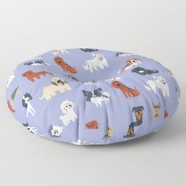 FRENCH DOGS Floor Pillow