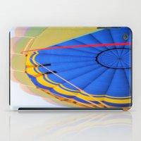 hot air balloon iPad Cases featuring Hot Air Balloon by Brian Raggatt