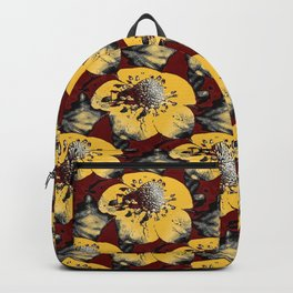 Fake Field of Flowers Backpack
