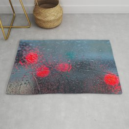 Red and Blue Rug