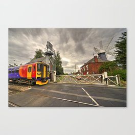 Railway Windmill  Canvas Print