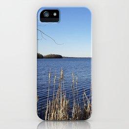 """""""Incredi-blue"""" lake view - Lake Mendota, Madison, WI iPhone Case"""