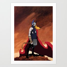 Thor 2 Art Print