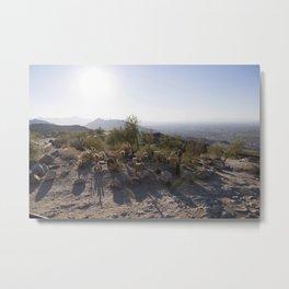 South Mountain AZ Metal Print