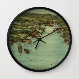 Buzzards Bay 1907 Wall Clock
