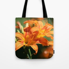 Day Lily Dance Tote Bag