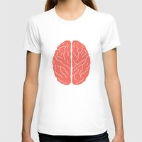 brain T-shirts featuring Brain by Yellow Chair Design