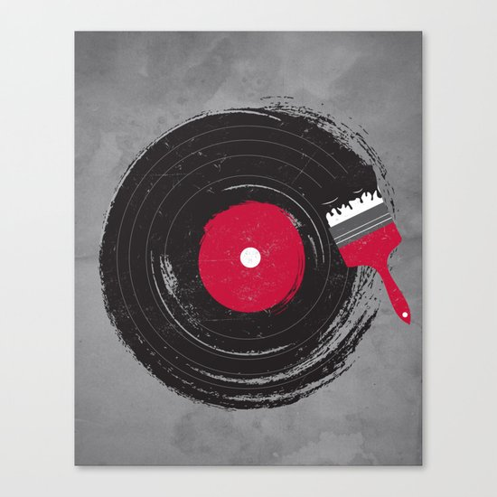 Art of Music Canvas Print