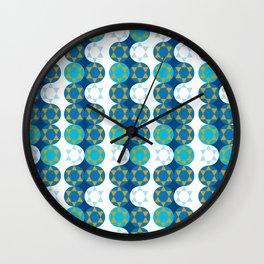 Star of David hanukkah Jewish holida Wall Clock