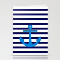 sail Stationery Cards featuring Sail by M Studio