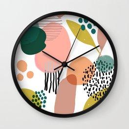 Abstract Modern Art Pattern 2 Wall Clock
