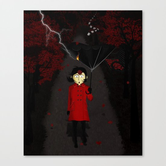Misforautumn Canvas Print