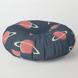 Planet Sat Floor Pillow