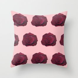 I'm Feeling Rosy Throw Pillow