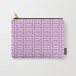 Good Vibes Positive Affirmations  Inspirational Carry-All Pouch