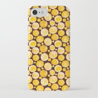 kansas iPhone & iPod Cases featuring Kansas Pattern by Timone