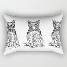 BAT CAT Rectangular Pillow