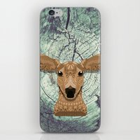 bambi iPhone & iPod Skins featuring Bambi by ArtLovePassion