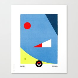 PKMNML #055 GOL DUCK Canvas Print